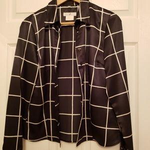 Vertigo Paris vintage womans silk shirt
